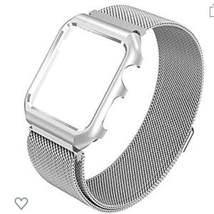 44mm 2-in-1 Magnetic Apple Watch Band/Bumper Combo